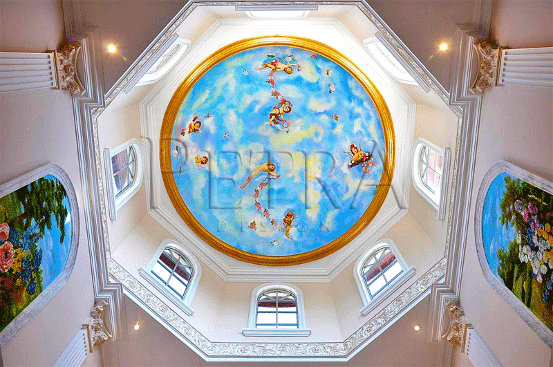 GRG-Ceiling-Dome,ceiling dome,decorative ceiling dome